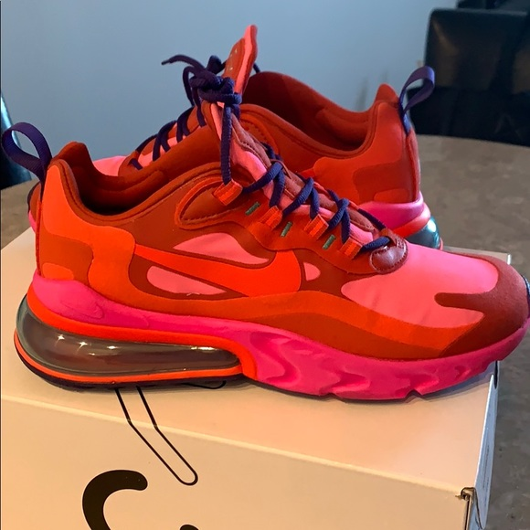 Nike Shoes Redpinkpurple Air Max 270 Reacts Poshmark